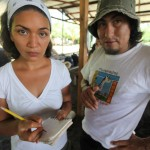 Cacarica, Chocó.  Cacarica is a community of returned displaced people. Photo: Sean Hawkey Consultation on the building of the Panamerican Highway through the Darien Gap. The consultation included Wounan Indigenous and negro communities.