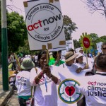 """More the 50 members of ACT Alliance joined civil society to take part in a Climate Justice march in Lima Peru as the UN COP20 talks continued in another part of the city.âÂÂ"