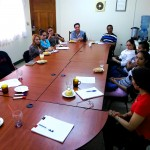 Several meetings, as that one in Nicaragua, were organised in preparation to the project.