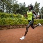 "Rose Nathike Lokonyen, efugee from South Sudan training in the Ngong track inthe outskirt of Nairobi. ; Until a year ago, Rose Nathike Lokonyen barely knew the talent she had. She had never competed, even as an amateur, after fleeing war in South Sudan when she was 10-years-old. Then, during a school competition in the refugee camp in northern Kenya where she lives, a teacher suggested that she run a 10-kilometre race. ""I had not been training. It was the first time for me to run, and I came number two,"" she says, smiling. ""I was very surprised!""  Rose has since moved to a training camp near the Kenyan capital, Nairobi, where she is preparing to run the 800-metre event at the Olympics. ""I will be very happy and I will just work hard and prove myself,"" she says. She sees athletics not only as an avenue to earning prize money and endorsements, but also as a way to inspire others. ""I will be representing my people there at Rio, and maybe if I succeed I can come back and conduct a race that can promote peace, and bring people together.""  She is still worried about injuries, however. ""That is my main challenge,"" she says. Until recently, she was not training with professional running shoes, and had no professional guidance. She still seems surprised that, in little over a year, she has risen to this point. ""I can do running as sport or, now I see, even as a career."""
