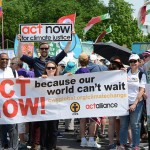 ACT Now for Climate Justice during the People's Climate March in Washington, DC.  Photo: Megan Cagle/CWS