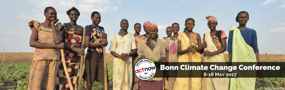 PROMO_Bonn Intersession_Act Now for Climate Justice