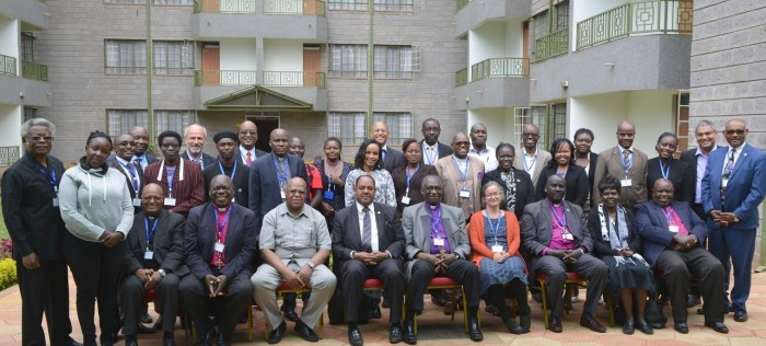 Group photo from AACC Event in Nairobi