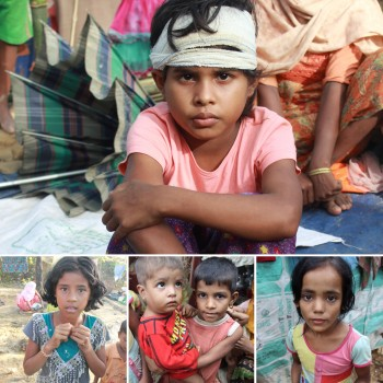 Collage - Rohingya Children