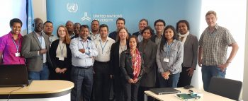 Photo of participants at UN University