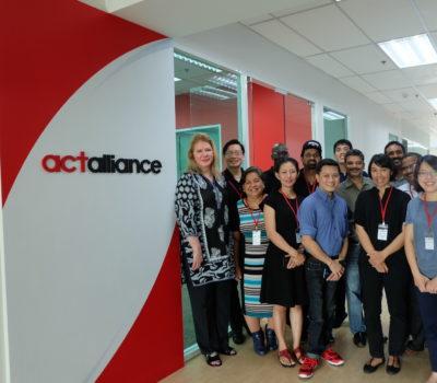 Participants of the climate change capacity building workshop