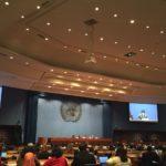 Photo at UN climate talks