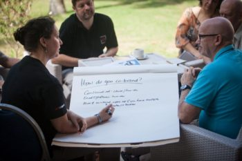 The ACT Alliance second general assembly being held in the Dominican Republic. ACT has 140 member organisations working on humanitarian assistance, development and advocacy. Pre-assembly workshops are being held today. Photo: Simon Chambers/ACT/PWRDF