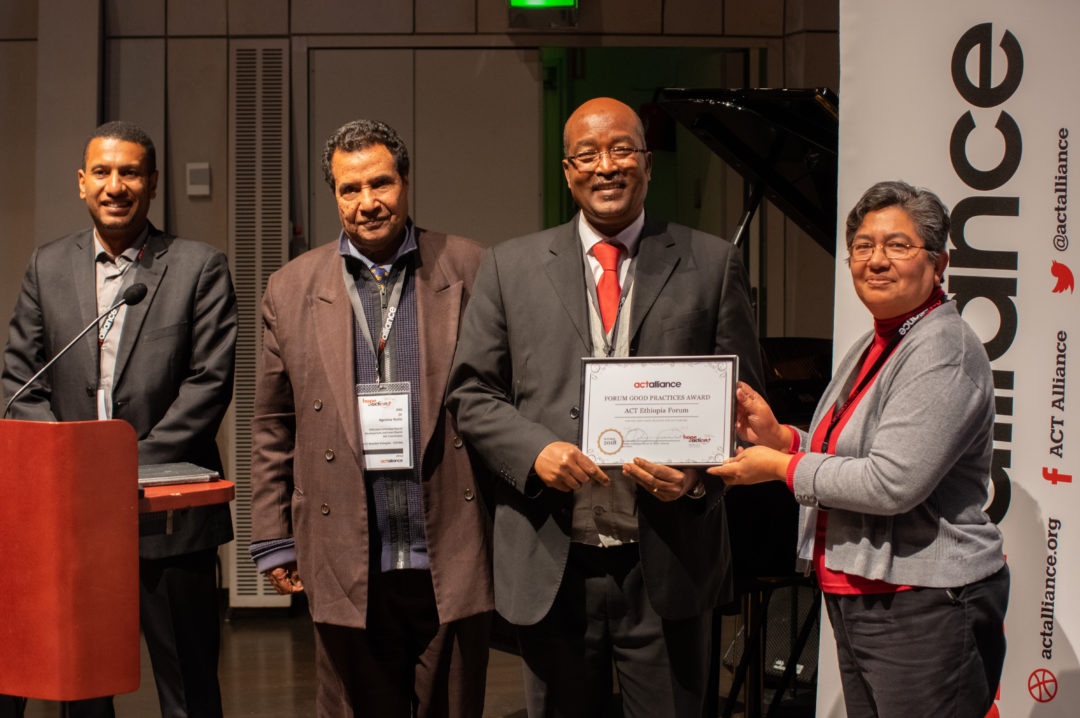 ACT Ethiopia Forum takes home ACT's Good Forum Practice Award