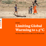 Cover page for Limiting Global Warming to 1.5C