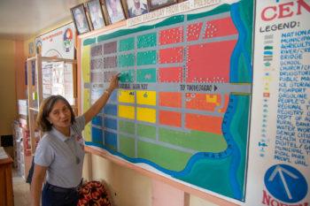 Photo of Melbina Mangasing, Barangay captain of Centro 1,