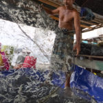 Image of fisherman from Lero Tatari village in Donggala, Indonesia