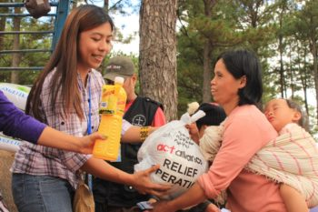 Photo of food distribution