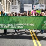 Churches supporting climate justice