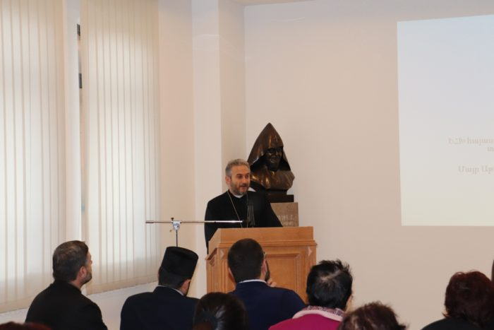 Bishop Mushegh Babayan, President of the Board of Trustees, Armenia Round Table Foundation