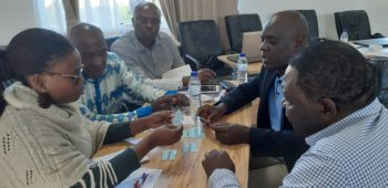 Group work on quality and accountability during a workshop in Mozambique. Photo: ACT